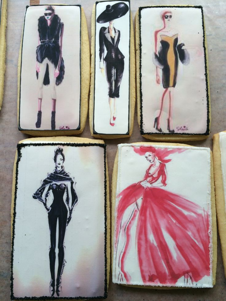 NYFW cookies