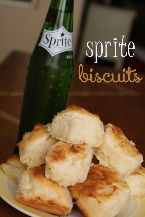Easy Recipes for Biscuits - Sprite Biscuits; I've had these before & they rocked