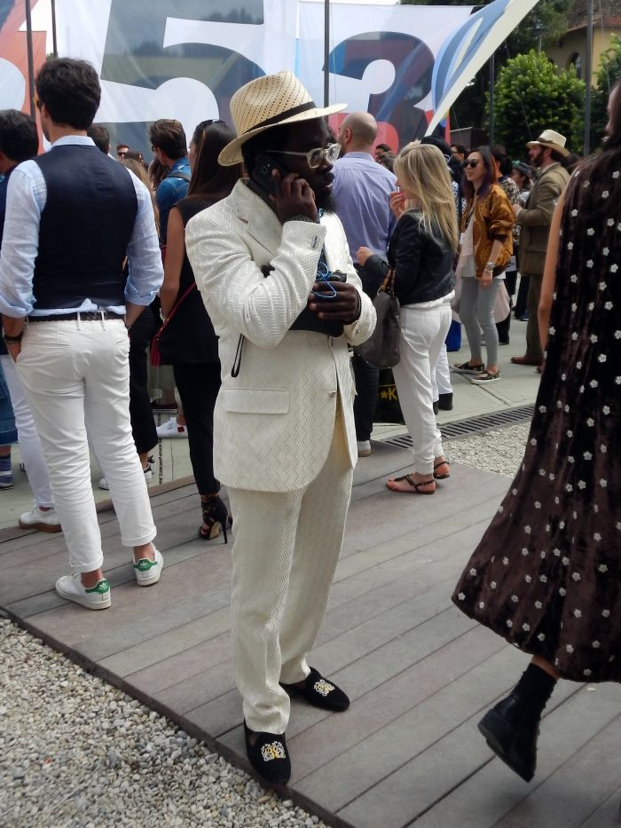 Off-white for a crisp summer suit #pittiuomo #mensfashion #style #summer