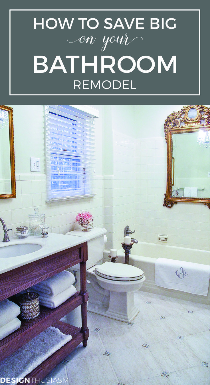2501 best images about hometalk styles french country on - How to redo a bathroom on a budget ...