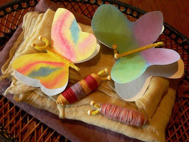 Naturally Tasmanian: Caterpillars & Butterflys