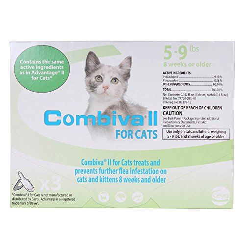 Ceva Animal Health D96110b Combiva Ii For Small Cats You Can