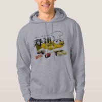 sushi king hoodie