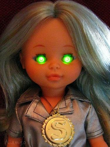 Nancy Selene, la primera muñeca del espacio.