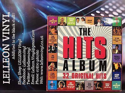 The Hits Album 1 Double LP Album HITS1 Pop 80's Compilation Prince Purple Rain Music:Records:Albums/ LPs:Pop:1980s