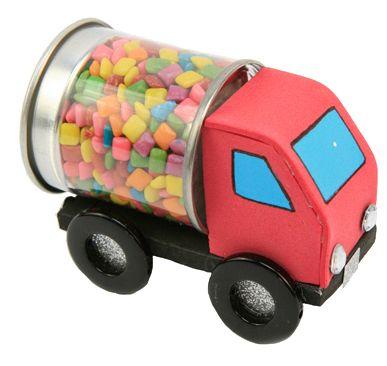 Regalo para niños / Fiestas infantiles / Dulceros / Dulces / Carrito / Niño  / Barra de dulces