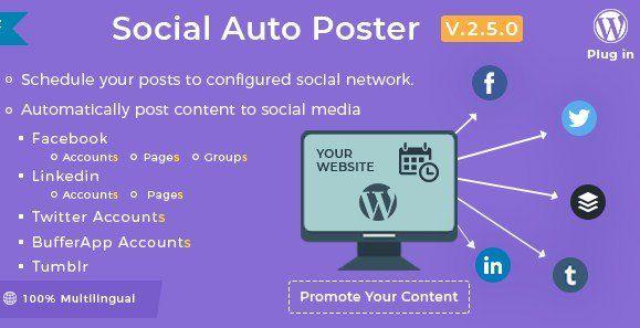 Social Auto Poster - WordPress Plugin 3 1 2 | Wordpress