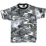Camouflage T-Shirt, City Gray, Small (Apparel)By Ultra Force