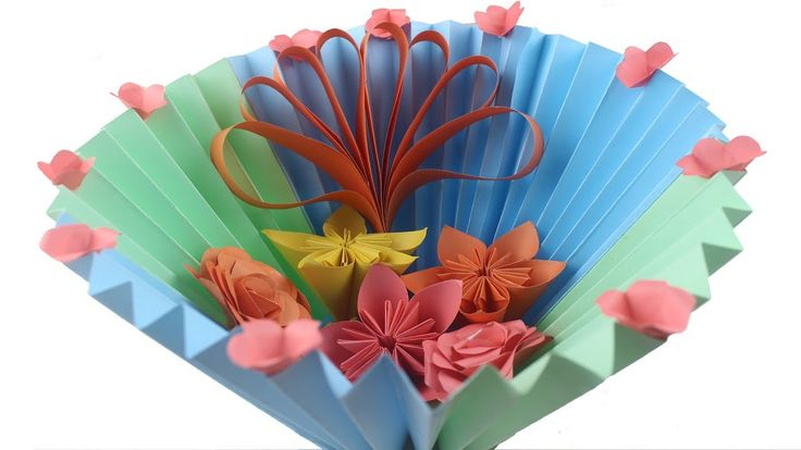 48 best origami flower images on pinterest exceptional easy diy paper basket how to make easy flower gift origami basket mightylinksfo