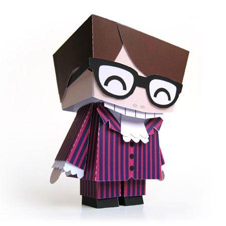 Austin Powers Papercraft
