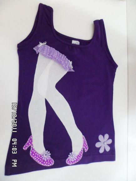 Camiseta Patch Aplique Bailarina http://www.elo7.com.br/camiseta-patch-aplique-bailarina/dp/2B38DD#df=d&uso=o&pso=up&osbt=b-o&nqs=0&sv=0                                                                                                                                                                                 Mais