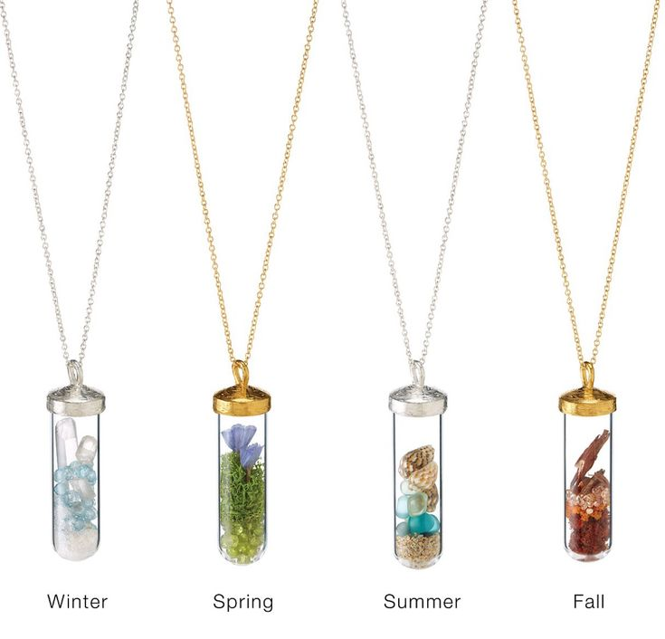 Unique Christmas Gifts Girlfriend Part - 27: A Necklace For Every Season. Christmas Gifts For GirlfriendUnique ...