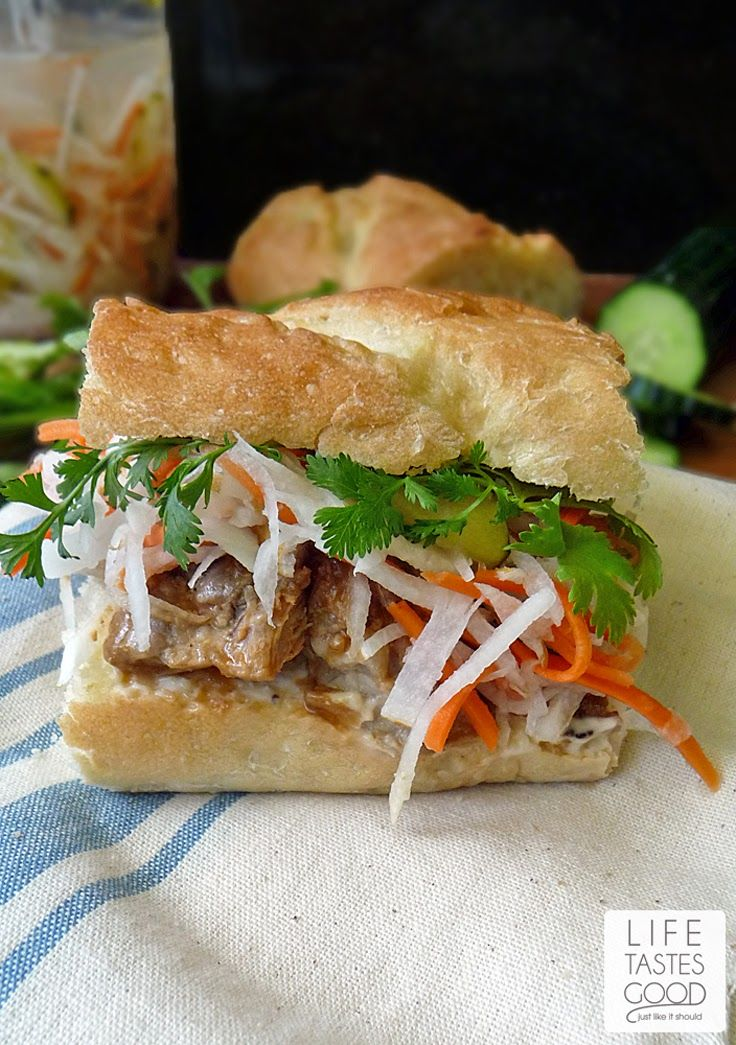 Vietnamese Pork Sandwich Recipe-Banh Mi | by Life Tastes Good