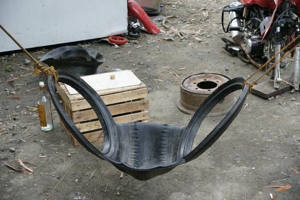 Handmade: Шинный креатив. Что можно сделать из старых покрышек.   Барановичи. Intex-press - Новости Барановичского региона