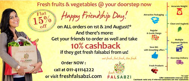 Buy #fresh #vegetables and #fruits in just few clicks from online shop #Freshfalsabzi.com in the best Prices in #Delhi #NCR.
