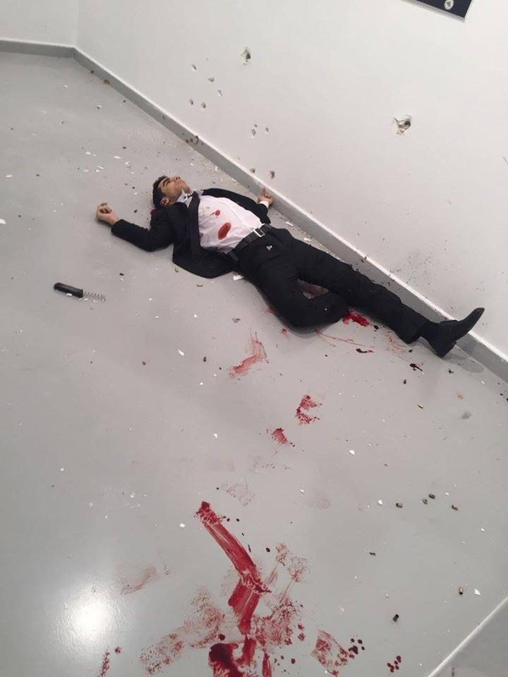 L'ambassadeur russe en Turquie assassiné et l'ambassade américaine en Turquie reçoit des tirs (probablement sous faux drapeau) | Stop Mensonges
