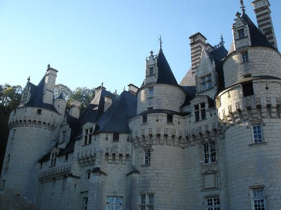 Chateau d'Usse the inspiration for Perrault's Sleeping Beauty
