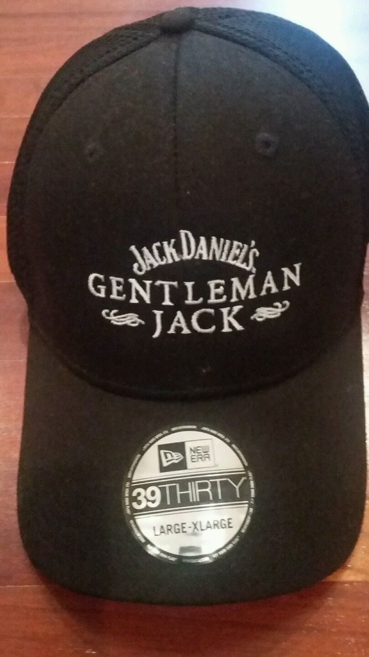 39thirty Jack Daniels Gentleman Jack Whiskey Baseball Cap Hat L-xl