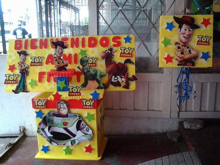 monkey piñateria: kit de fiesta toy story