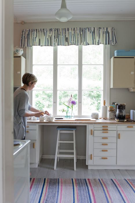 Vihreä talo: Eevan kotona --- keittiö