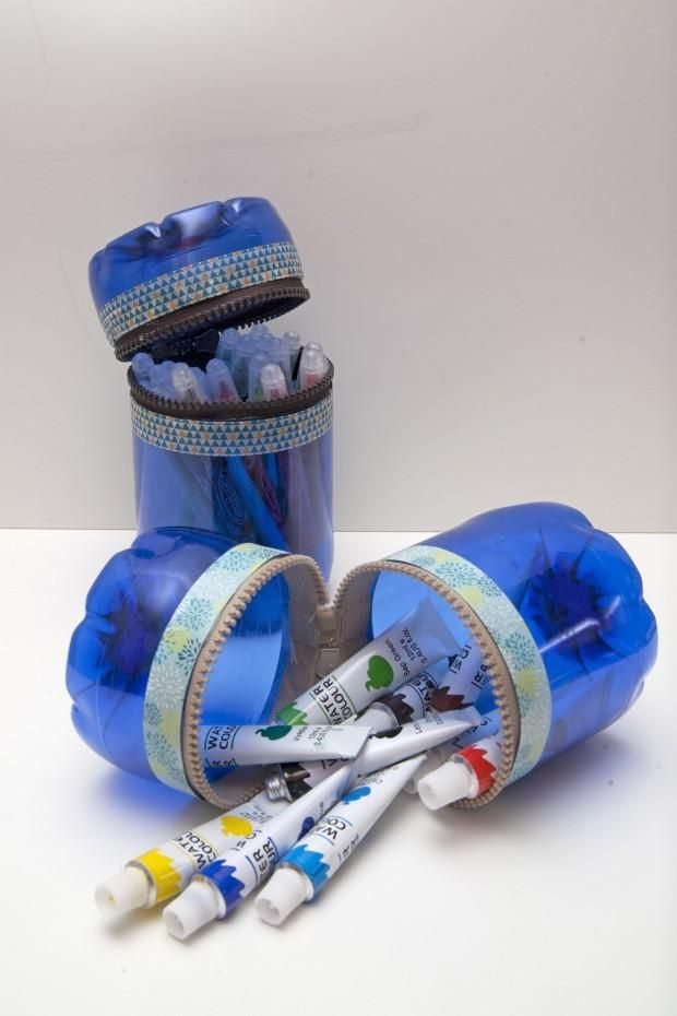Cómo hacer envases con botellas de plástico | Aprender manualidades es facilisimo.com