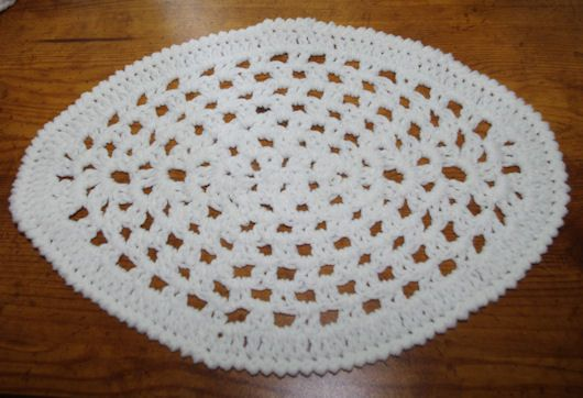 Oval Granny Doily Crochet Pattern Free Crochet Pattern
