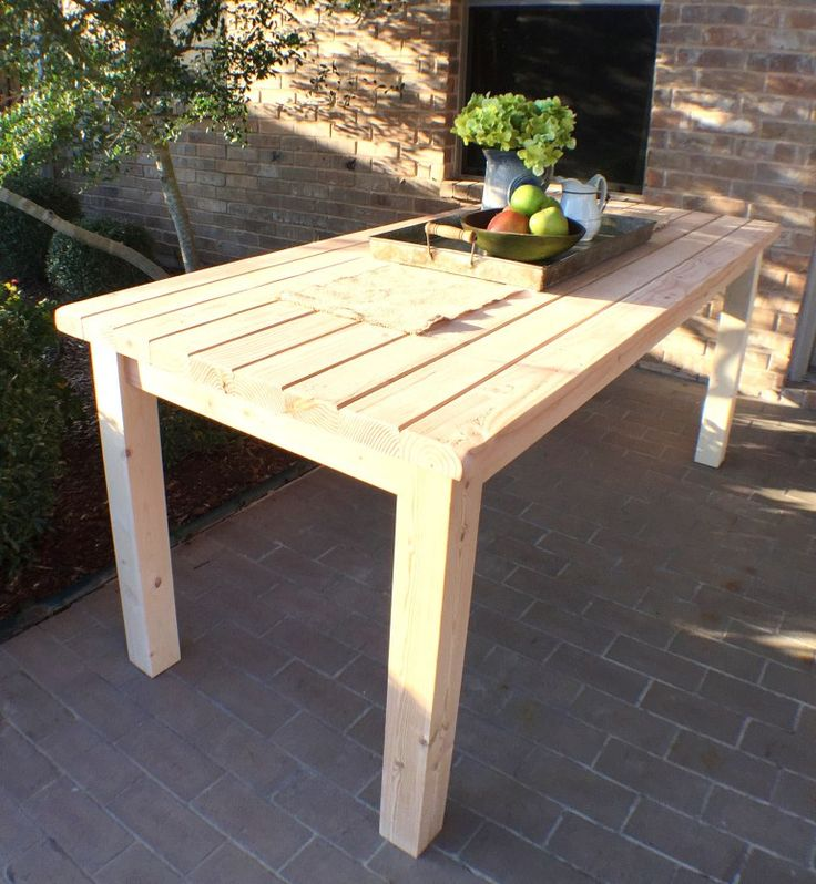 17 best ideas about 2x4 furniture on pinterest for 2x4 farm table