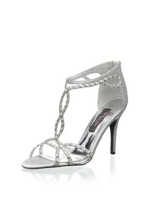 61% OFF Nina Women's Ciprina Evening Sandal (Silver)