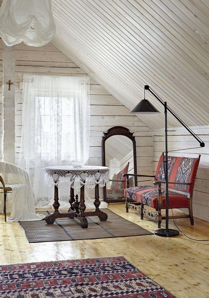 Интерьер дачи на Оке от декоратора Юлии Голавской - Дизайн интерьеров   Идеи вашего дома   Lodgers
