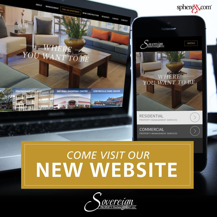 Look At Sovereignu0027s New Website