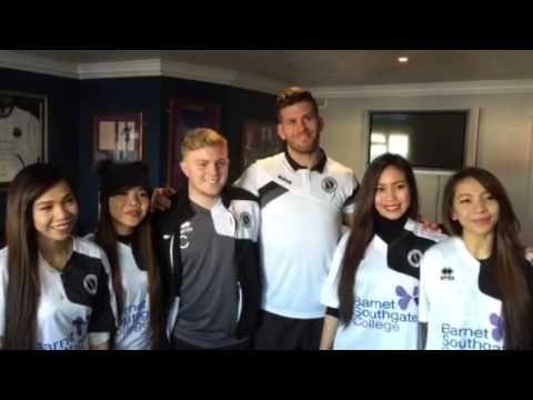 4th Impact visit Boreham Wood Football Club