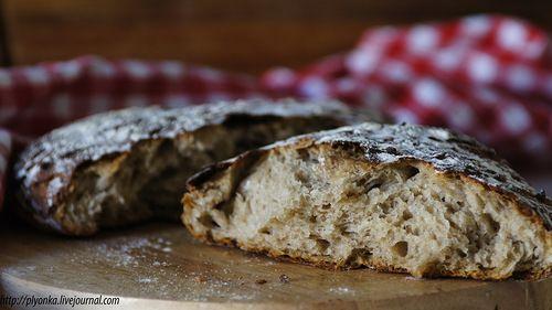 Plyonka - Эльзасский хлеб с пивной корочкой