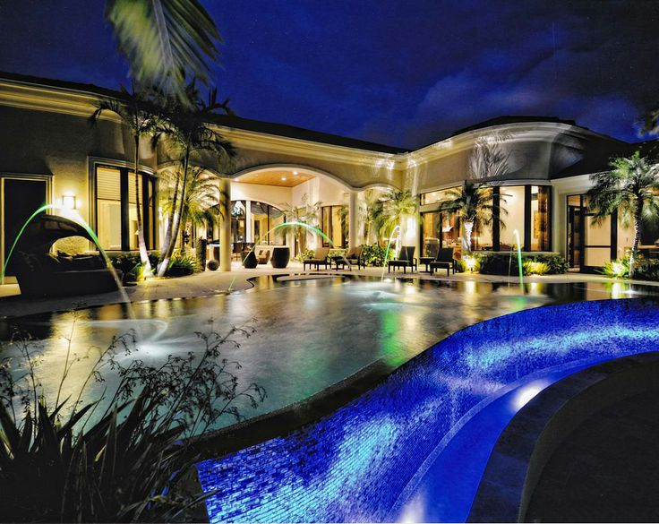 Pebbletec midnight blue custom pools pinterest the for Blue world pools