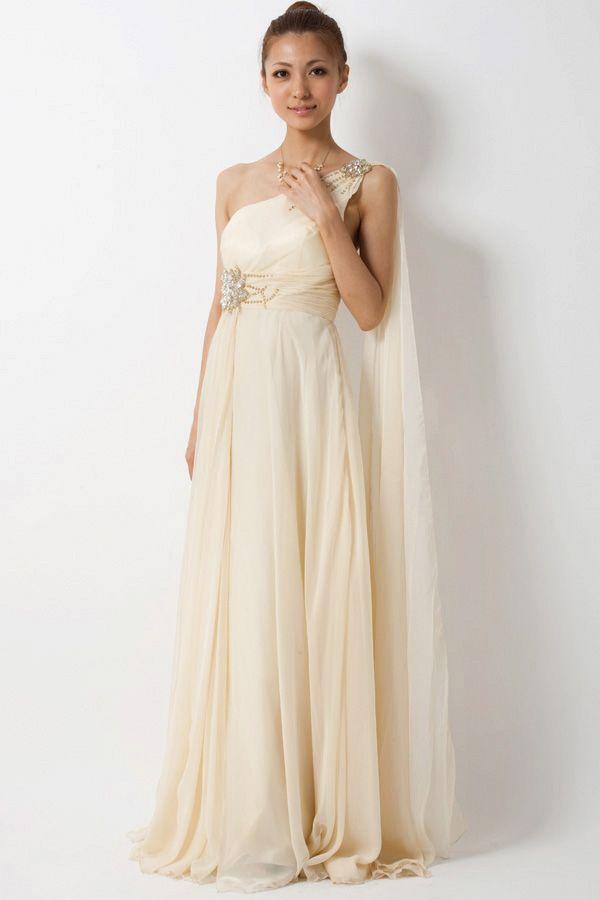 古代ギリシャにタイムスリップしたかのようなエレガントなドレス【リリアージュ】