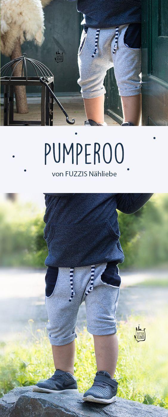 """Probenähen » Pumperoo » 3/4 Pumphose mit """"Turn Ups"""""""