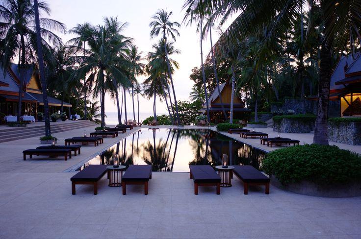 amanpuri beautifull black pool