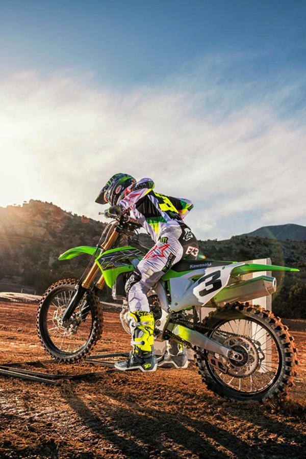 77da761aa New KX450F dirt bike