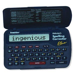 Webster's Spelling Corrector Plus, NCS101