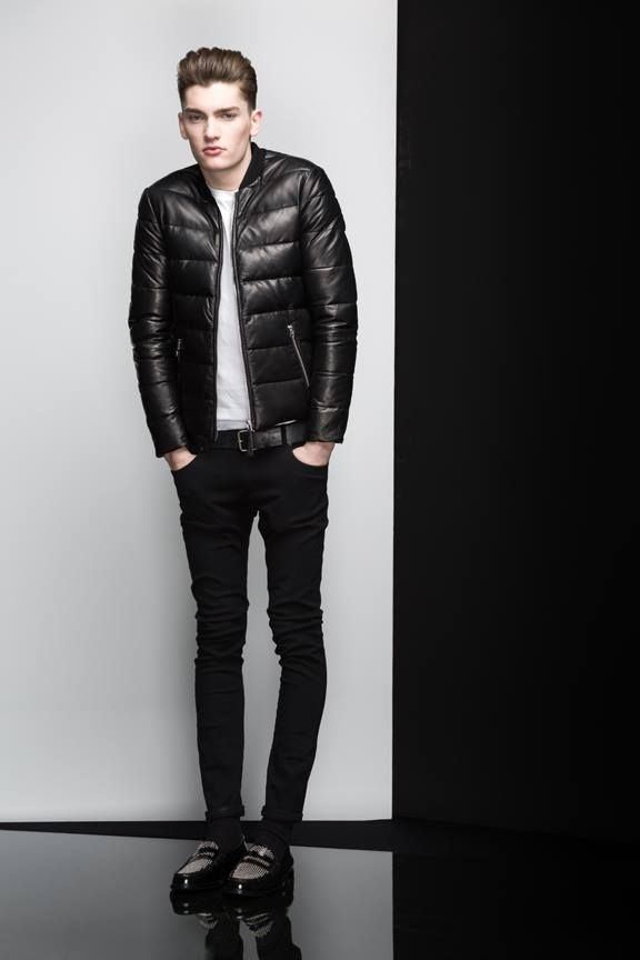 RUPERT Black. Shop it at www.mackage.com. #lookbook #menswear #fw14