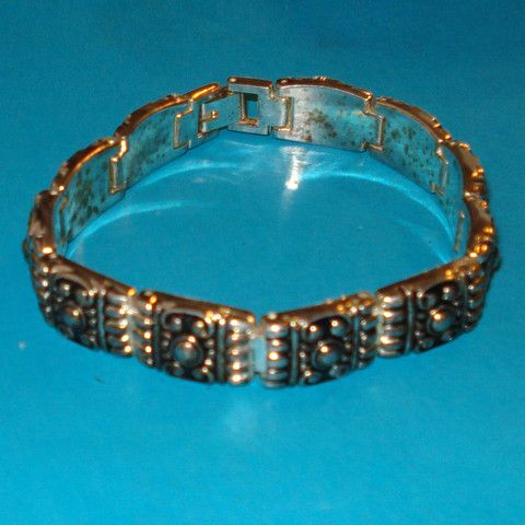 Tribal Panel Bracelet - Mookie Designs Vintage