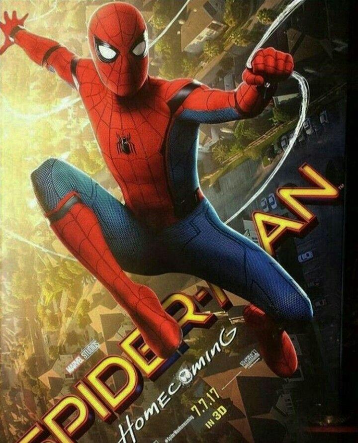 Slick SPIDERMAN HOMECOMING poster