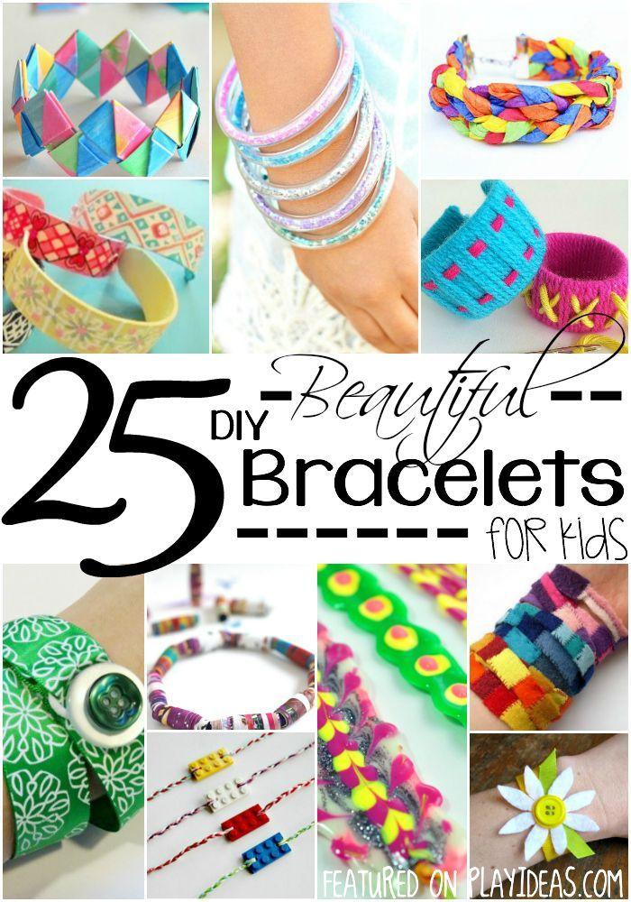 25 Beautiful DIY Bracelets for Kids