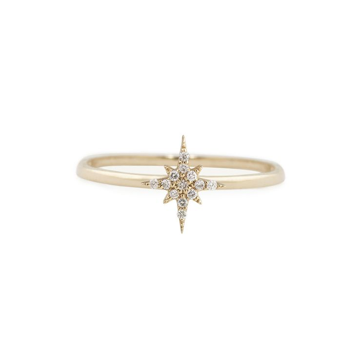 Starburst Diamond Ring – Envero Jewelry
