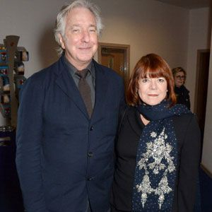 Alan Rickman Marries Longtime Love Rima Horton After Nearly 50 Years!
