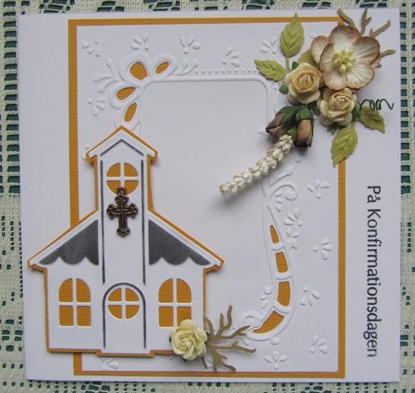 pipserier: Card w church