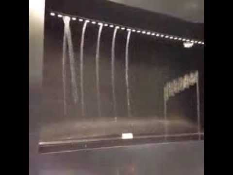 Only in Japan, waterfall musical notes