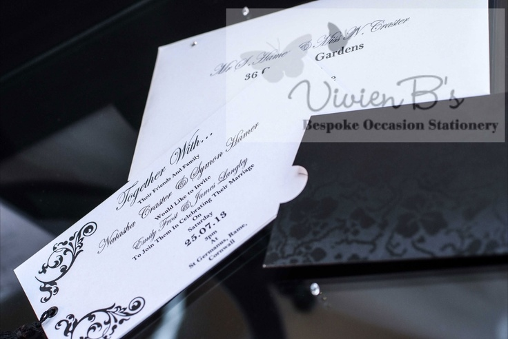 We just love the Timeless Grace wedding stationery collection. For the real classy affair! More wedding invitations and wedding stationery designs are also available from VivienB's in thame, oxford, oxfordshire, and are available throughout the United Kingdom, UK, USA, Europe, and worldwide. We would love to hear from you via our website www.vivienbs.com