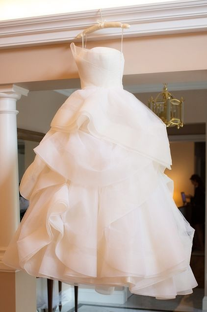 Finally found the Wedding dress of my Dreams..❤️ Emmy DE * Vera Wang's Katherine ball gown at Four Seasons Boston.
