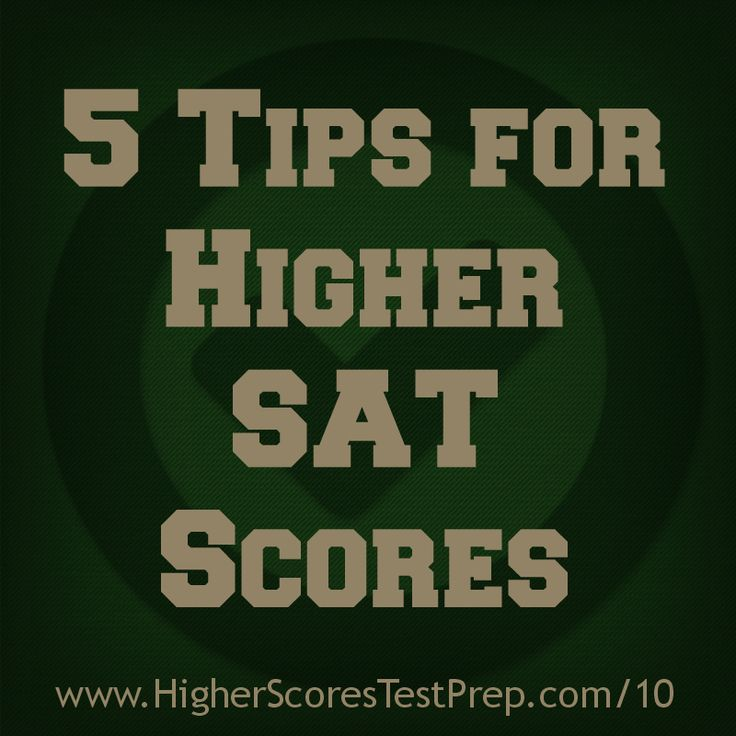 Higher Scores Test Prep's Lauren Gaggioli gives her top 5 SAT tips. These tips with help students get their higher SAT score quickly!