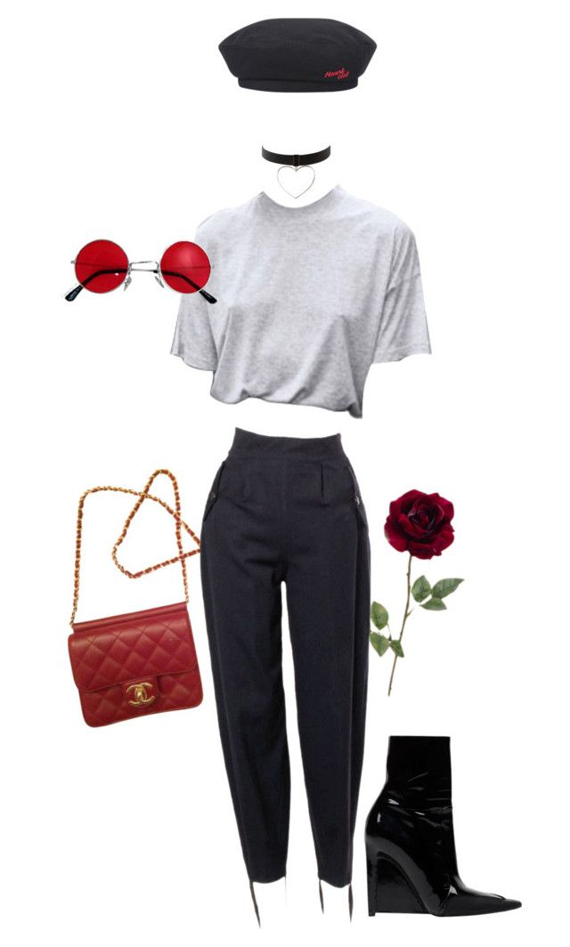 """Untitled #555"" by milly-oro ❤ liked on Polyvore featuring Chanel"